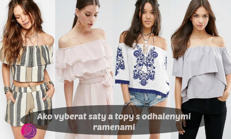 Ako Vyberať šaty A Topy S Odhalenými Ramenami