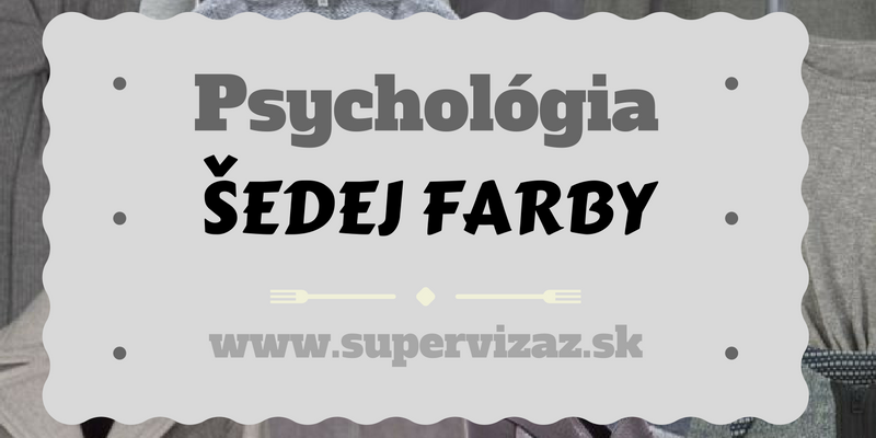 Psychológia Farieb – šedá