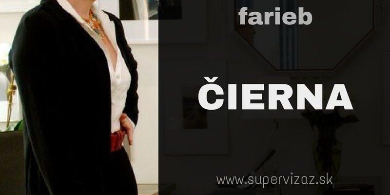 Psychológia Farieb – čierna
