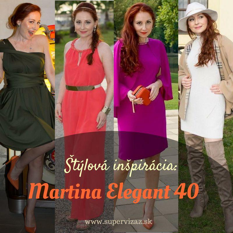 Štýlová Inšpirácia – Martina Elegant 40