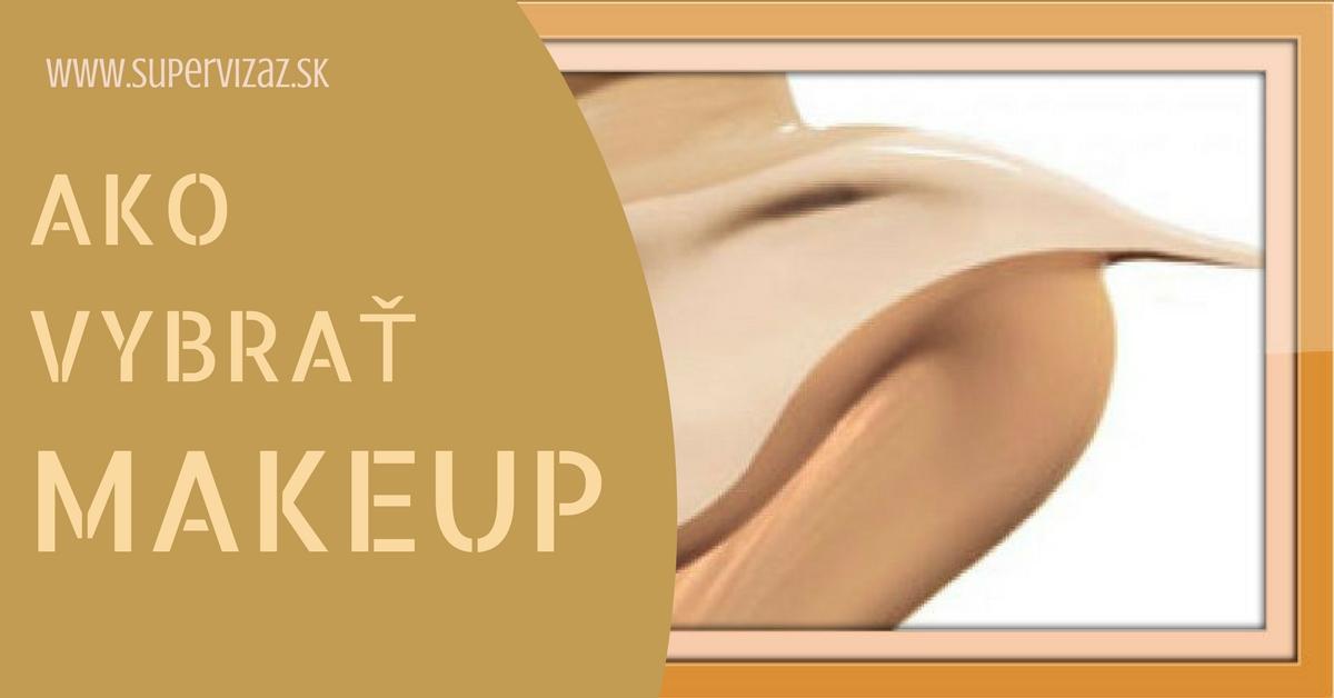 Ako Vybrať Make-up