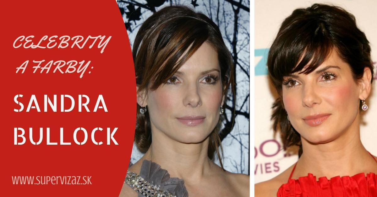 Celebrity A Farby – Sandra Bullock
