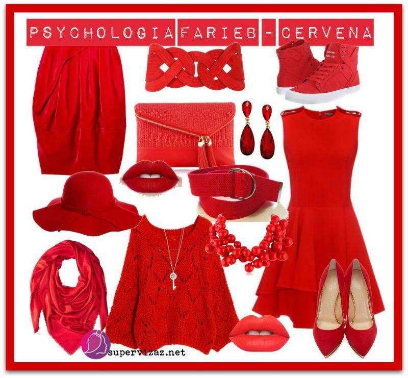 Psychológia Farieb – červená