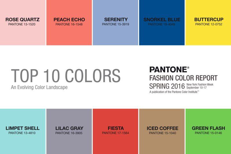 Pantone – Farby Pre Jar 2016