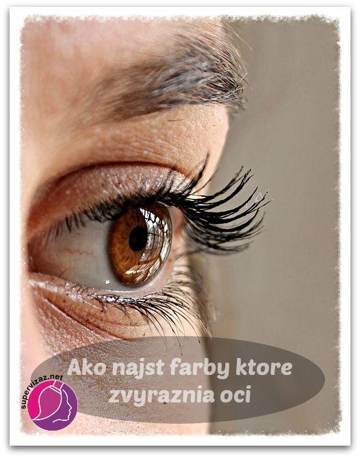 Objavte Farby Ktoré Rozžiaria Vaše Oči