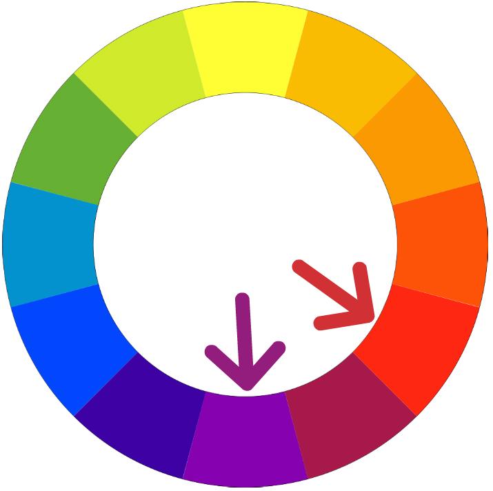 Neobvyklé Farebné Kombinácie – Fialová A červená