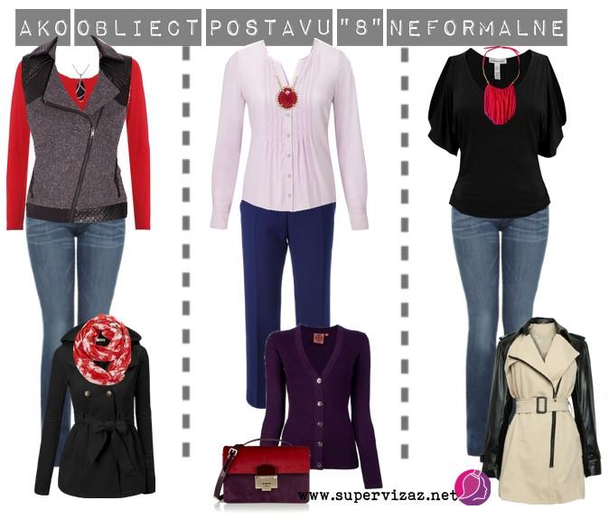 Neformálne Oblečenie Pre Postavu Presýpacích Hodín