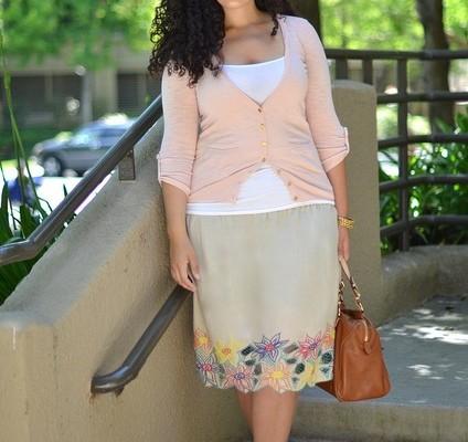 Módne Blogerky – Girl With Curves 2 – Sukne