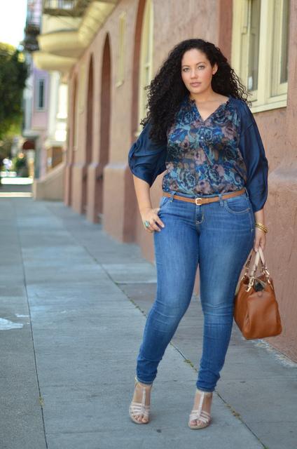 Módne Blogerky – Girl With Curves 1 – Nohavice