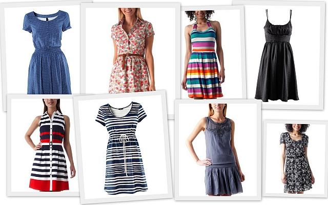Nákupy – Letné šaty
