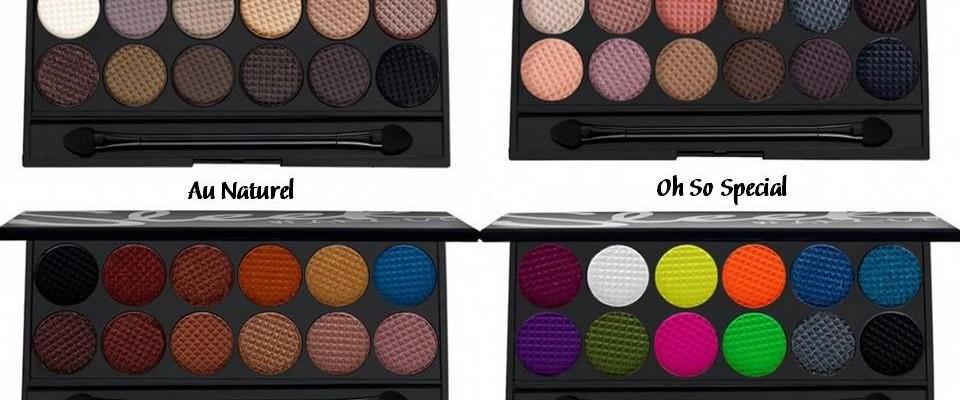 Líčenie – Vyskúšali Sme Palety Očných Tieňov Sleek MakeUP