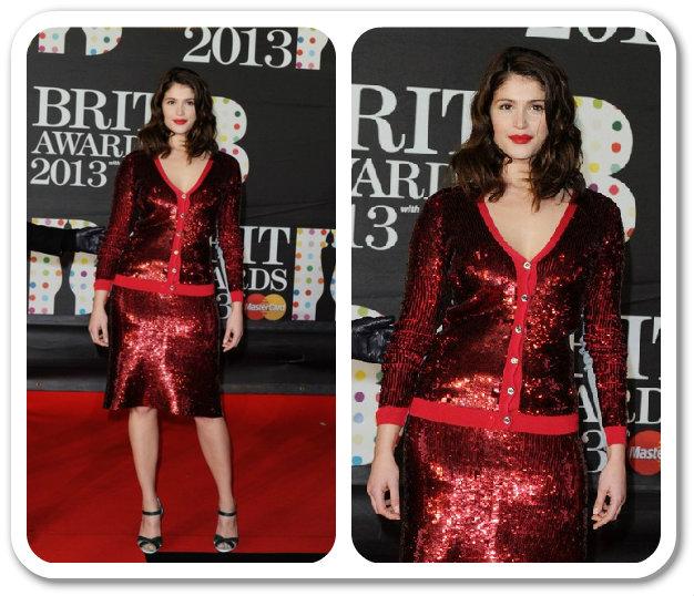 Gemma Arterton Na Brit Awards 2013 – Malá Zmena Strihu S Veľkým účinkom