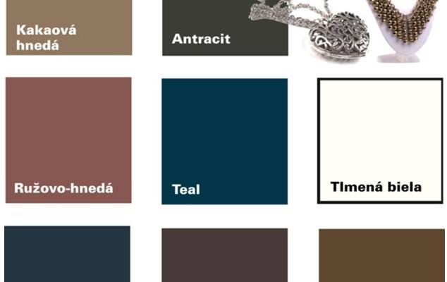 Farby – Neutrálne Farby Pre Tlmený Typ