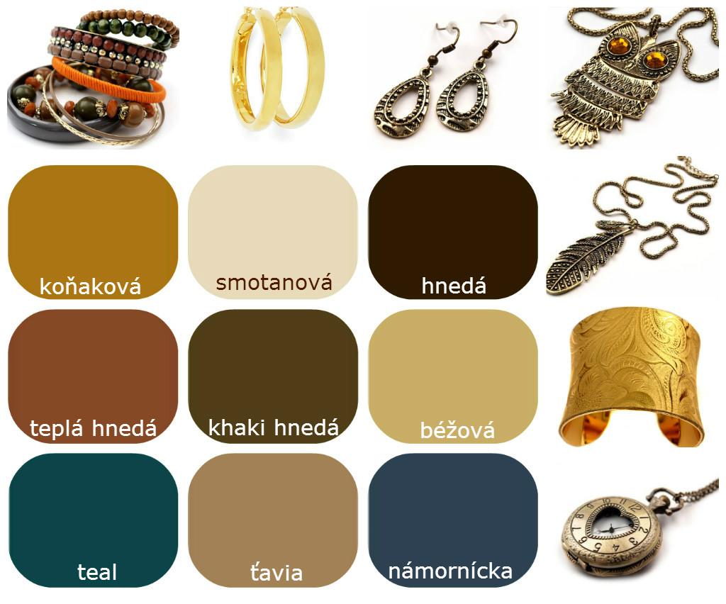 Farby – Neutrálne Farby Pre Teplé Typy