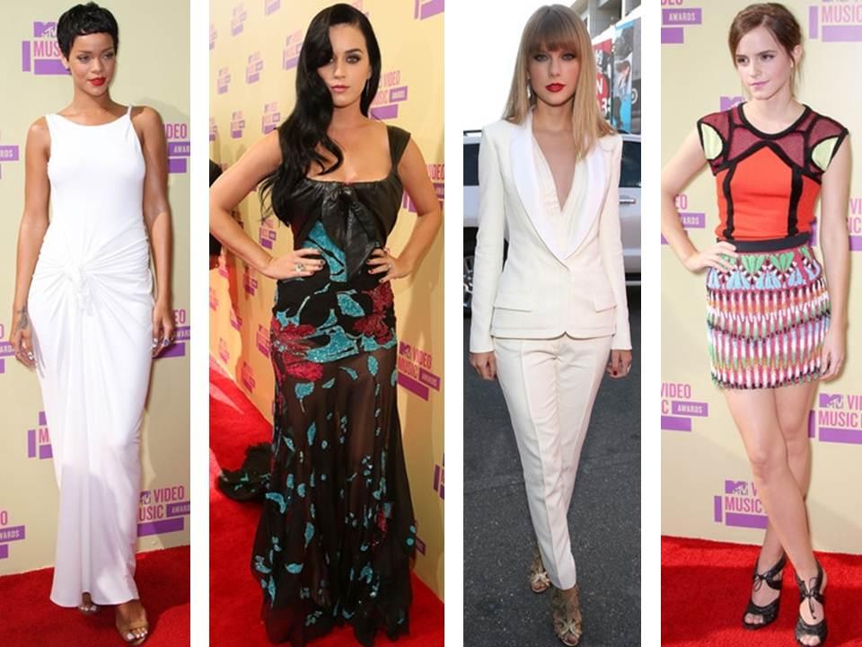 Celebrity A Udalosti – MTV Video Music Awards 2012