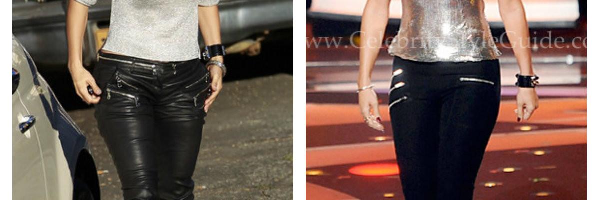Celebrity A Tvar Postavy – Jennifer Lopez V Bledých Nohaviciach