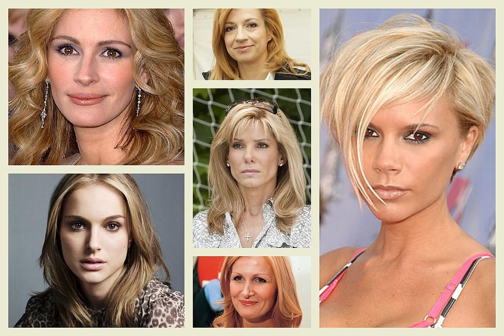 Celebrity A Farby – Tmavý Typ A Blond Farba Vlasov