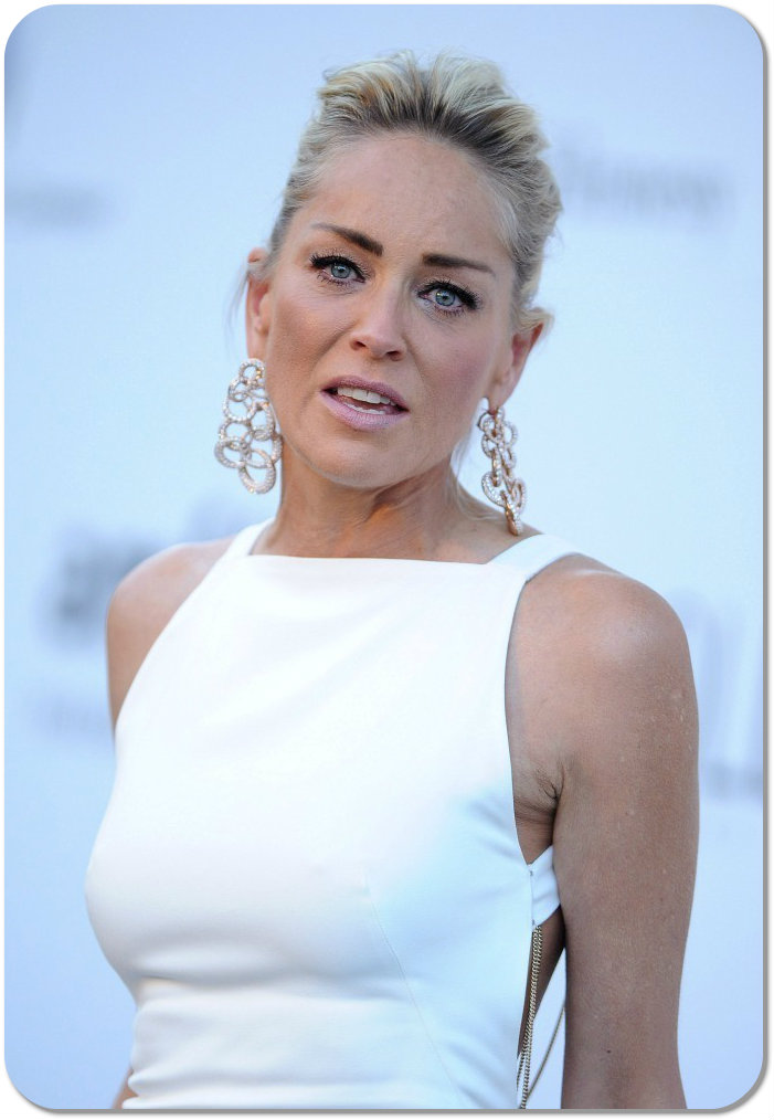 Celebrity A Farby – Sharon Stone