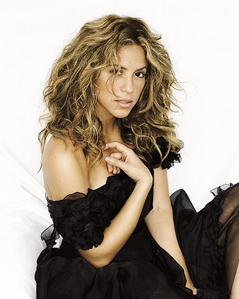 Celebrity A Farby – Shakira – Tmavý Typ