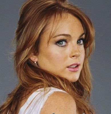 Celebrity a farby – Lindsay Lohan – teplá jeseň – farba vlasov 4cc32b095eb