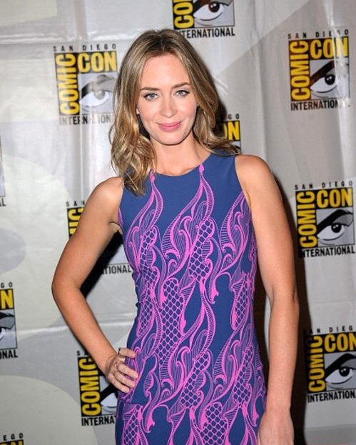 Celebrity A Farby – Emily Blunt