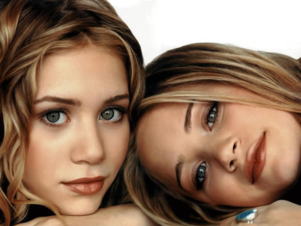 Celebrity A Farby – Ashley A Mary-Kate Olsen
