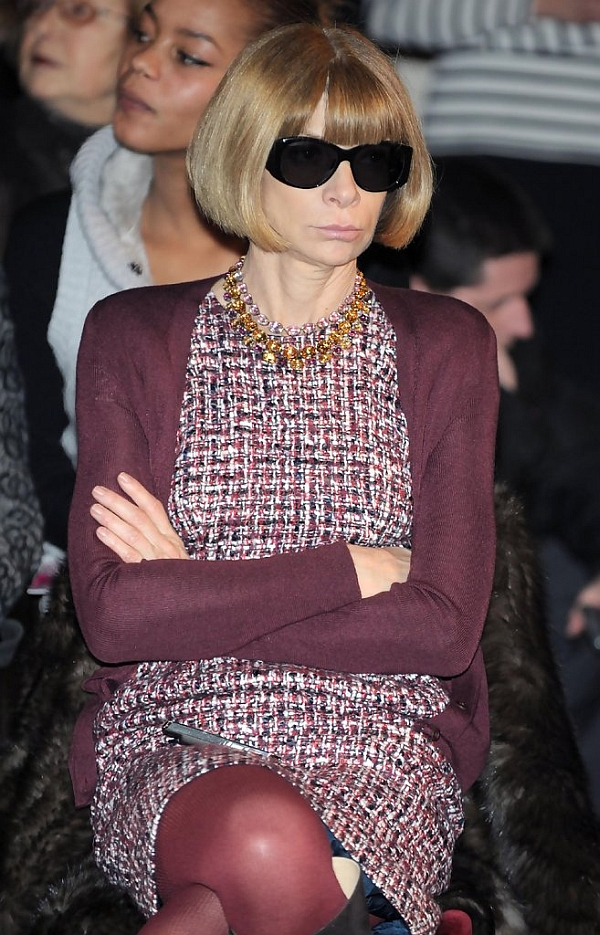 Celebrity A Farby – Anna Wintour