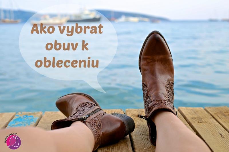77ba29de737a Ako vybrať obuv k oblečeniu