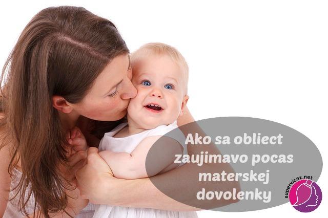 Ako Sa Obliecť Zaujímavo Počas Materskej Dovolenky