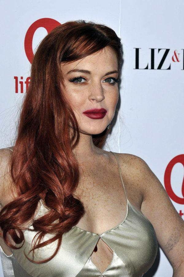 Vlasy – Lindsay Lohan Sa Vrátila K Teplej Farbe Vlasov