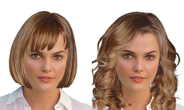 Vlasy – Keri Russell – Jemné črty Tváre