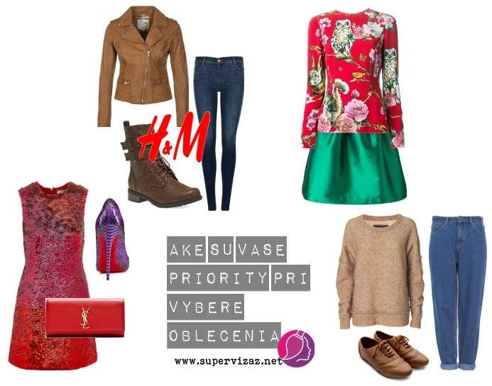 Aké Sú Vaše Priority Pri Výbere Oblečenia?
