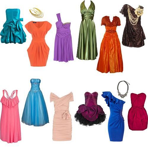 Akú Farbu Plesových šiat Vybrať?