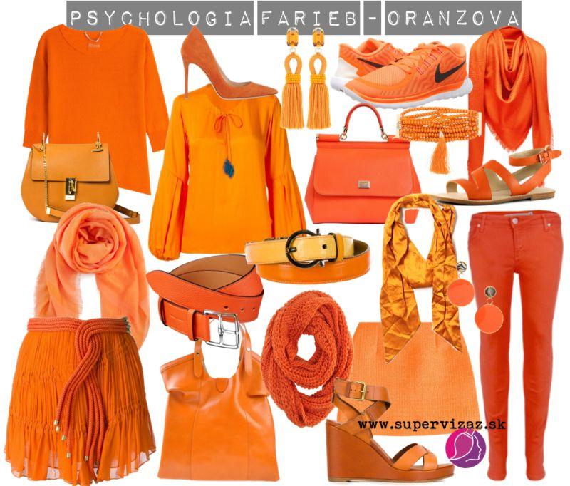 Psychológia Farieb – Oranžová