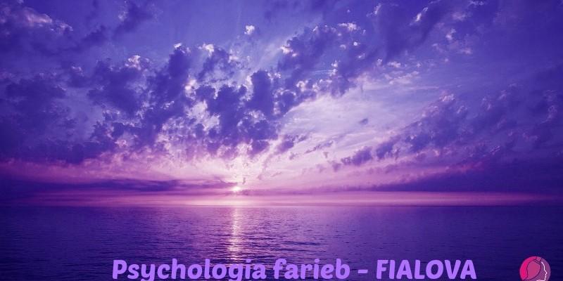 Psychológia Farieb – Fialová