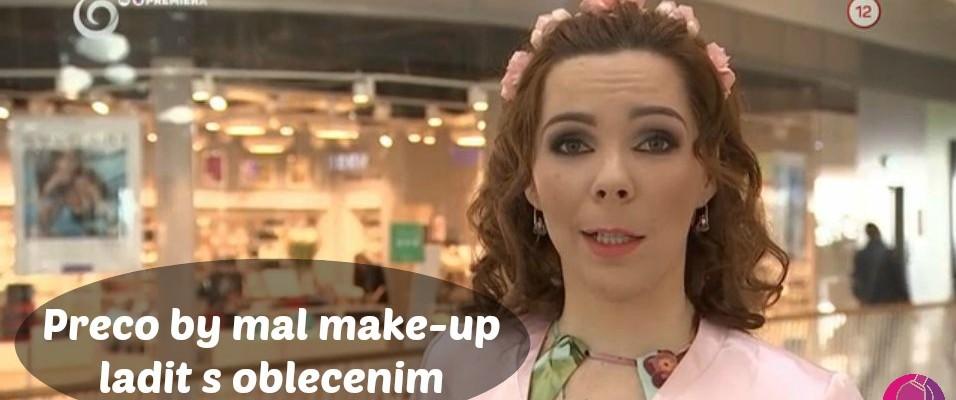 Prečo By Mal Make-up Ladiť S Oblečením