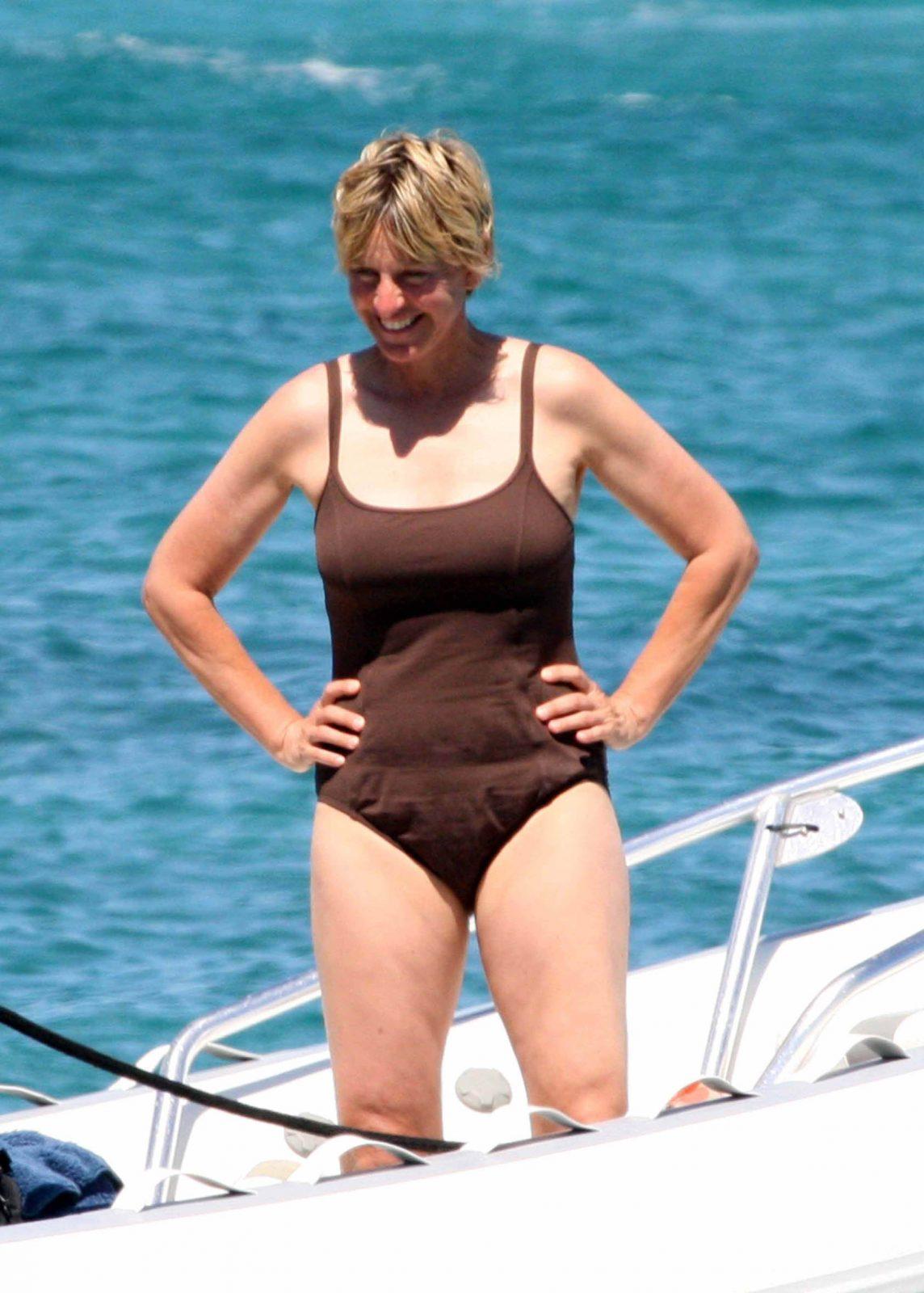 Ellen DeGeneres And Portia De Rossi In Italy