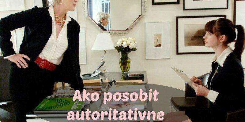 Ako Pôsobiť Autoritatívne