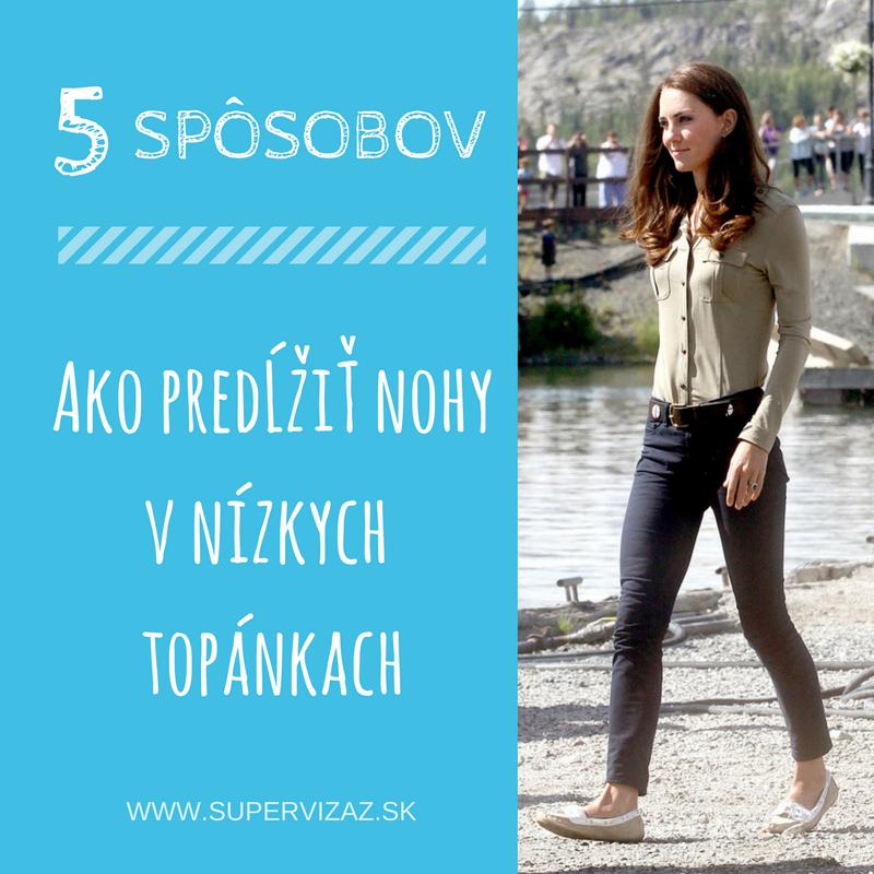 5 Spôsobov, Ako Predĺžiť Nohy V Nízkych Topánkach