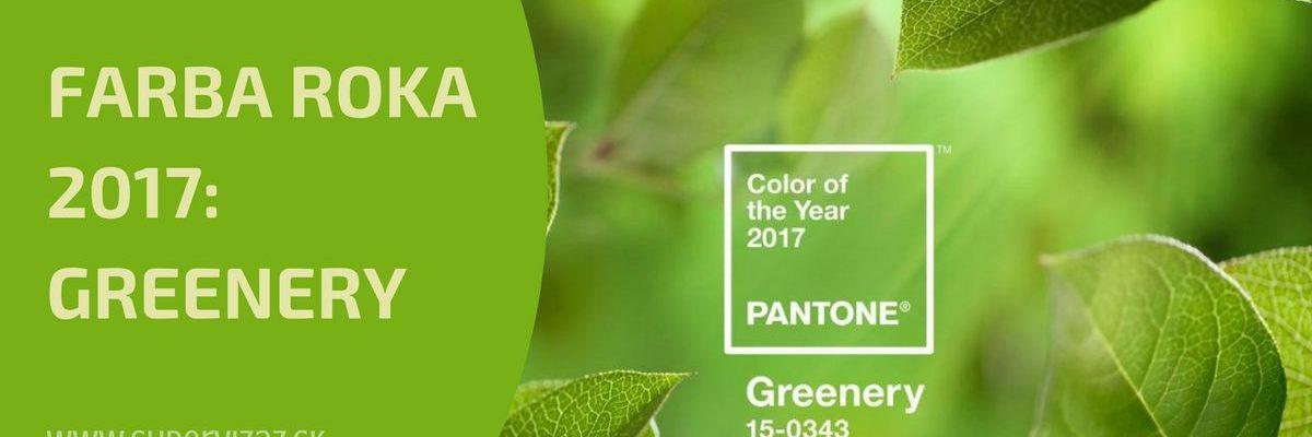 Farbou Roka 2017 Je Svieža A Energická Greenery