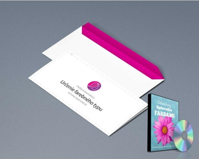 Darčeková Poukážka: Určenie Farebného Typu + CD Sprievodca Farbami