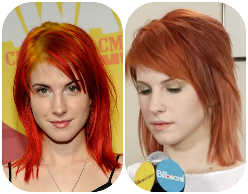 ilustračné foto  Hayley Williams. Nevhodná farba vlasov ... 0cf62eaec52