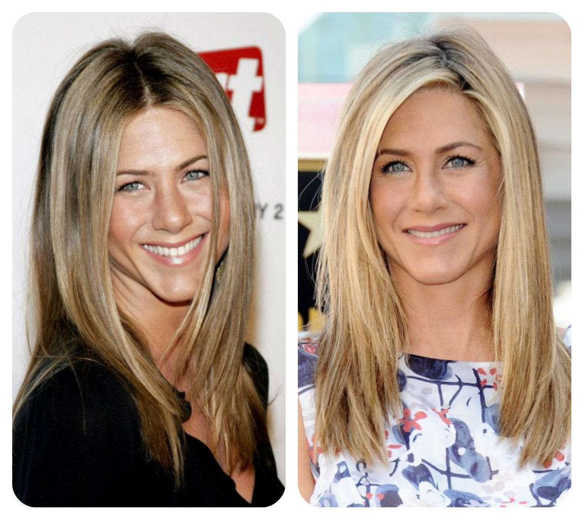 Vlasy - Účes Jennifer Aniston pre film